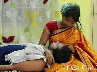 Desi Girl Affaire d'amour Two lovers in bed