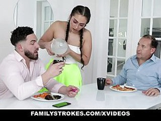 FamilyStrokes - Performance bro Pranking Brand-new Performance suckle Relative to At arm's length Vibrator