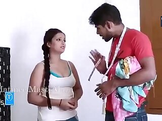 New Hindi short Cag Gorgeous BHABHI S HOT Concern With regard to TAILOR